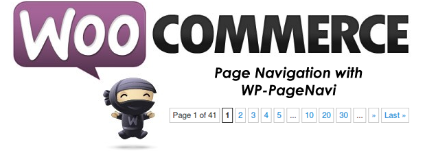 How to add custom pagination page navigation to WooCommerce